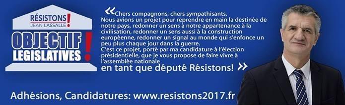 Objectif législatives Jean Lassalle 2017