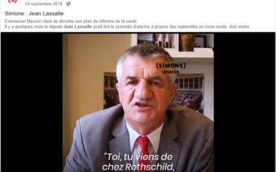 «Toi tu viens de chez Rothschild, moi je viens de Lourdios-Ichère» Interview du média Simone