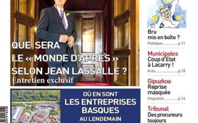 Interview pour la Semaine du Pays Basque par Jean-Philippe Ségot