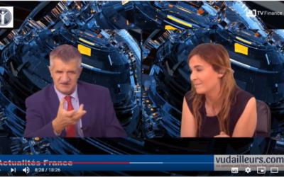 Interview pour Vudailleurs.com et TV Finance