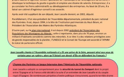 Qui est Jean Lassalle ? par Rémi Thomas