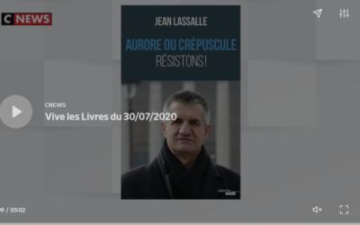 Interview chez PPDA dans l'émission Vive les Livres