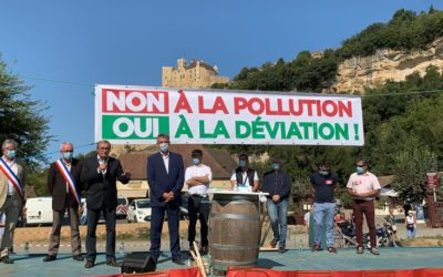 Mobilisation pour Beynac !