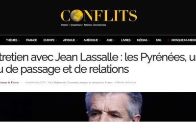 """Interview à Conflits Magazine, """"Les Pyrénées, un lieu de passage et de relations"""""""