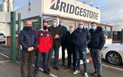 Solidarité avec les salariés de Bridgestone à Béthune