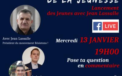 """Lancement des """"Jeunes avec Jean Lassalle"""""""