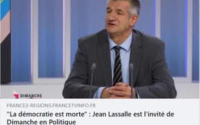 """Interview pour """"Dimanche en politique"""" sur France 3 Aquitaine"""