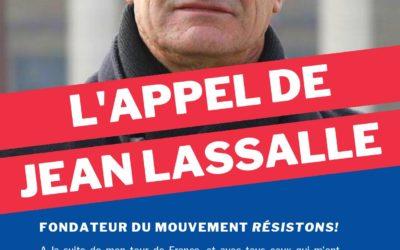 Rejoignez Résistons! avec Jean Lassalle