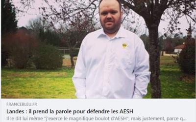 Défendre la cause des Accompagnants d'élèves en situation de handicap AESH !
