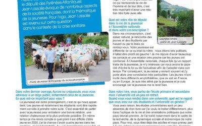 Interview pour la revue Frigo UPPA Université de Pau et des Pays de l'Adour