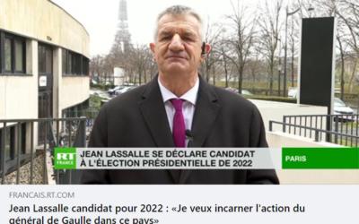 Interview : Jean Lassalle sur RT France