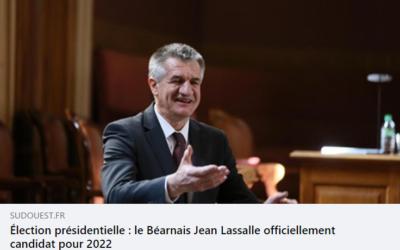Jean Lassalle candidat à la présidentielle 2022