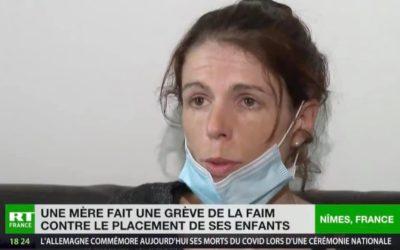 Grève de la faim de Karine Trapp
