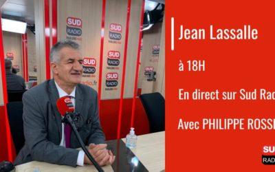 Interview Sud Radio : PPL vote blanc de Jean Lassalle