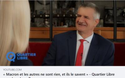 """Interview pour """"QG le média libre"""""""