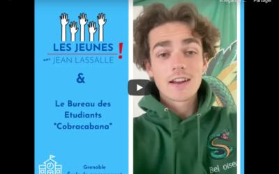 """Les """"Cobracabana"""" remercient Jean Lassalle pour son soutien"""
