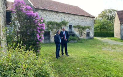 Déplacement en Nouvelle-Aquitaine suite