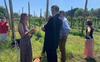 Rencontre avec une jeune agricultrice