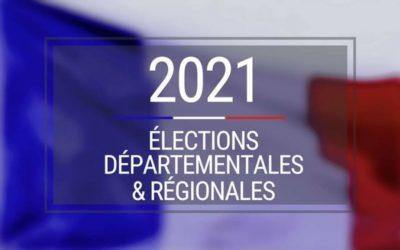 Résultats des régionales et départementales 1er tour