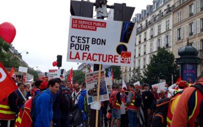 Non à la privatisation de EDF !