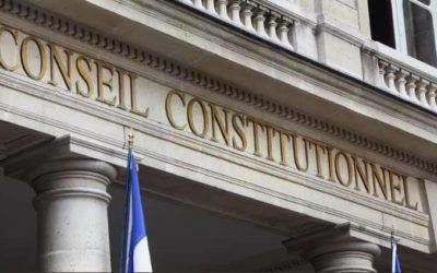 Réaction à propos de la décision du Conseil Constitutionnel