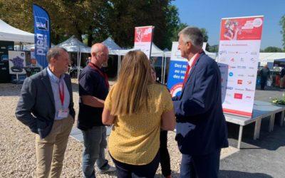 Au Congrès des maires ruraux de France dans L'Yonne