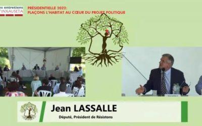 """Entretiens d'Inxauseta """"« La présidentielle 2022 et la question du logement »"""