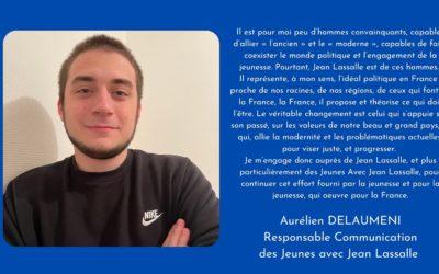 Portrait d'un JJL : Aurélien Delaumeni